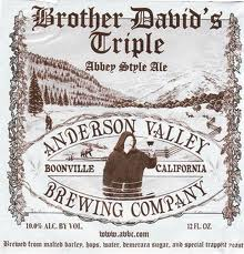 Logo of Anderson Valley Brother David's Triple Abbey Style Ale