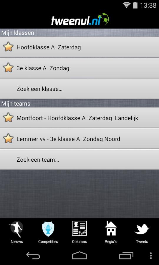TweeNul - screenshot