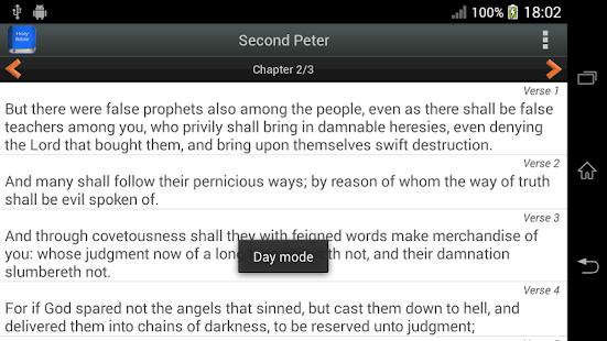Bible King James Version PRO screenshot