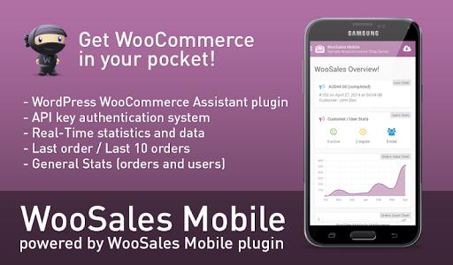 WooSales Mobile - WooCommerce