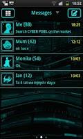 Screenshot of Blue Tech GO SMS Pro