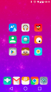 Aurora UI Square - Icon Pack - screenshot thumbnail