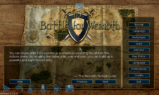 Battle for Wesnoth- screenshot thumbnail