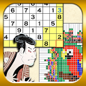 Sudoku&Nonogram Ukiyoe Collect icon
