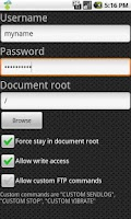 Screenshot of FTP Server Ultimate Pro