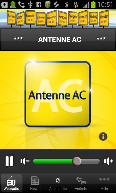 Antenne AC – Screenshot