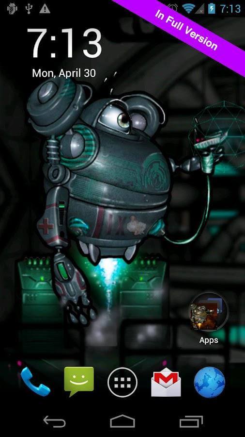 Robot Squad Free Wallpaper- screenshot