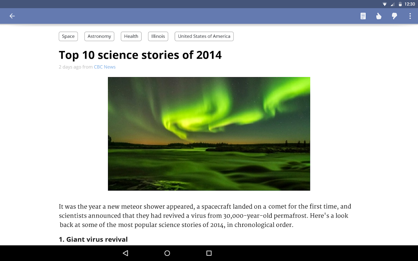 News360: Personalized News - screenshot