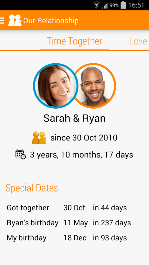 togethr - the app for couples- screenshot