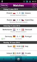 Screenshot of Live Euro 2012