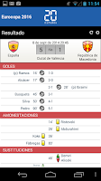 Screenshot of Fútbol 20minutos Resultados