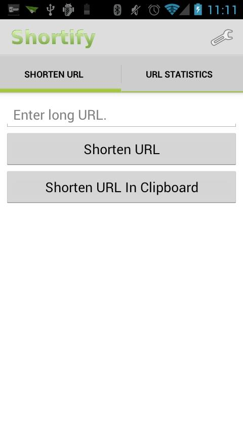 Shortify! Goo.gl URL Shortener- screenshot