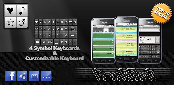 SymbolsKeyboard & TextArt Pro v2.5.20