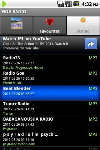 GOA RADIO - screenshot