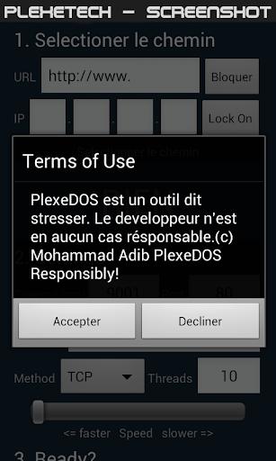 PlexeDOS - LOIC