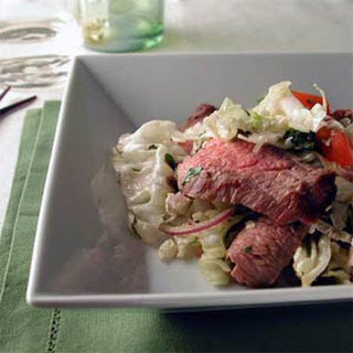 Grilled Beef Salad with Lemongrass Dressing