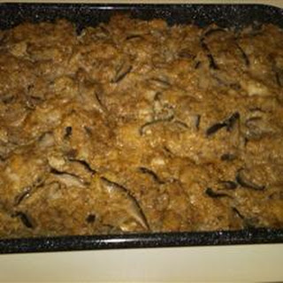 Holiday Oyster Stuffing.