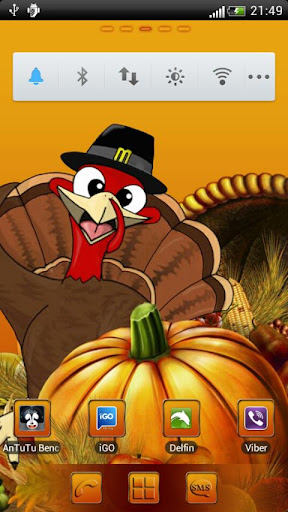 Thanksgiving Day GO Launcher