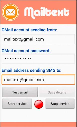 Mailtext SMS Text forwarder