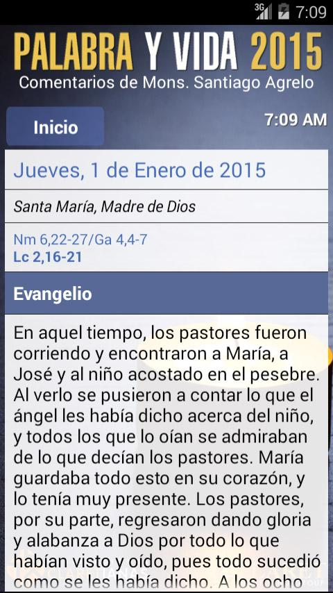 Palabra y Vida 2015- screenshot