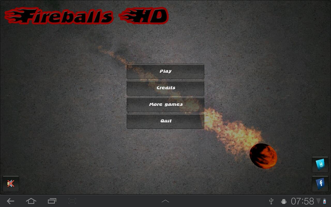 Fireballs HD- screenshot