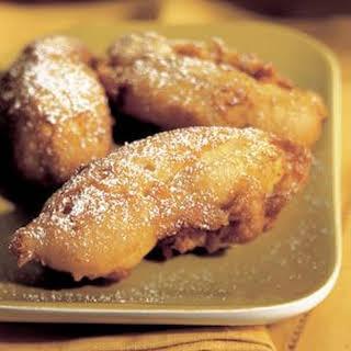 Banana Fritters.