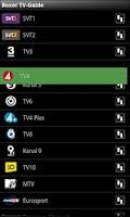 Screenshot of Boxer TV Guide SE