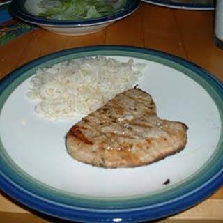 Tarragon Tuna Steaks.