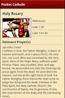 Screenshot of Pocket Catholic