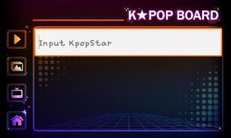 Screenshot of K-pop Star Board