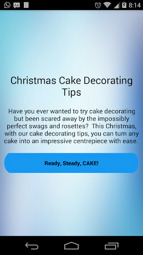 Christmas Cake Decoration Tips
