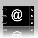 Address book search icon