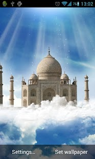 Taj Mahal Live Wallpaper - screenshot thumbnail