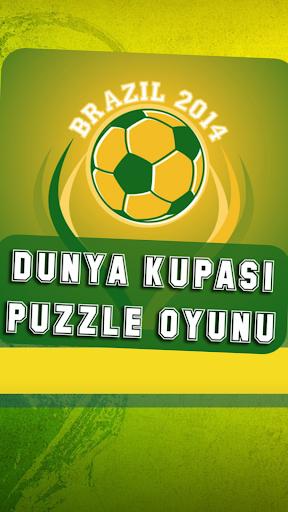 World Cup 2014 Puzzle Oyunu