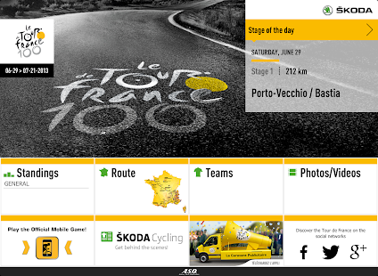 TOUR DE FRANCE 2013 by ŠKODA - screenshot thumbnail
