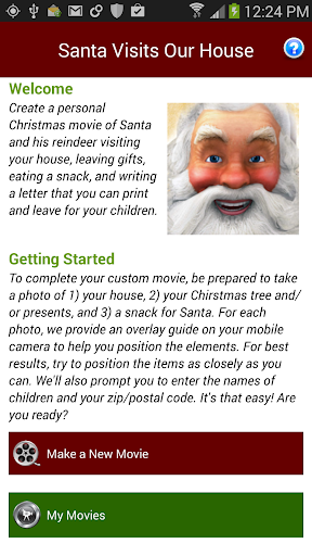 Santa Visits Our House - 2013