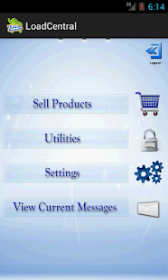 LoadCentral Retailer's App- screenshot thumbnail