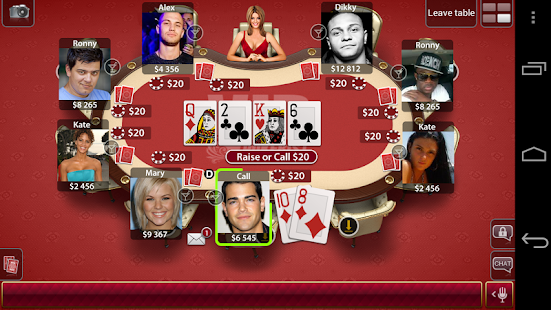 Texas Poker E- screenshot thumbnail