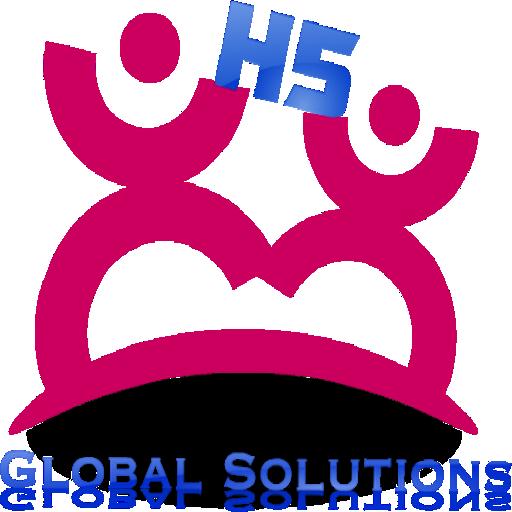 H5 Global Solutions Social App LOGO-APP點子