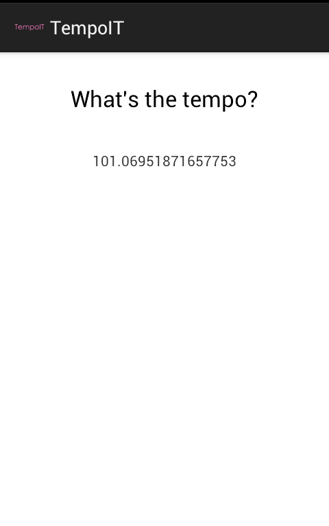 TempoIT - screenshot