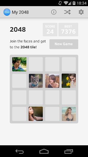 My2048 - Your version of 2048