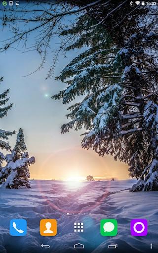 玩免費個人化APP|下載Winter Nature Live Wallpaper app不用錢|硬是要APP