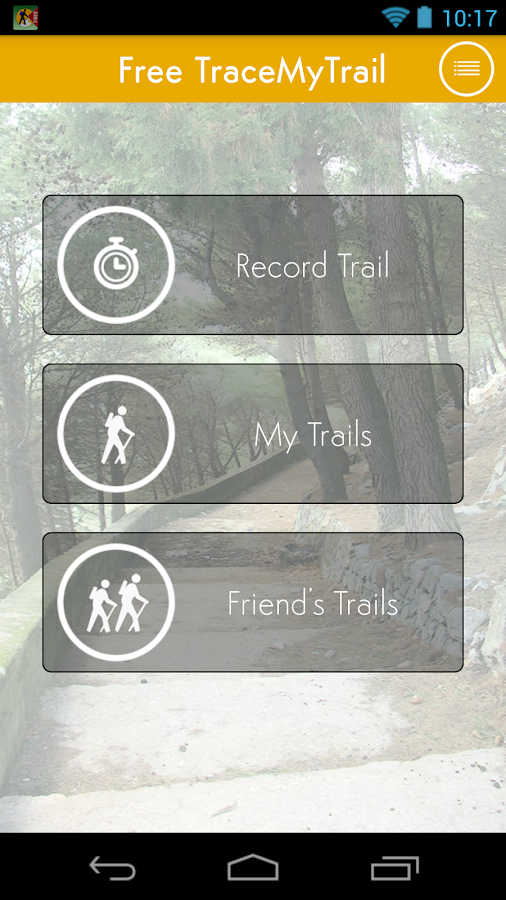 Trace My Trail- screenshot