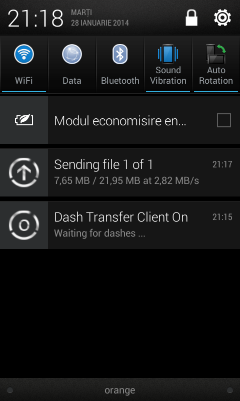 DashDroid - screenshot