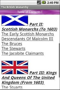 The British Monarchy - screenshot thumbnail