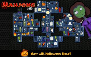 Screenshot of Mahjong HD