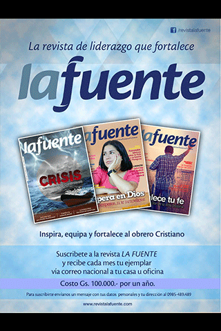 Revista La Fuente- screenshot