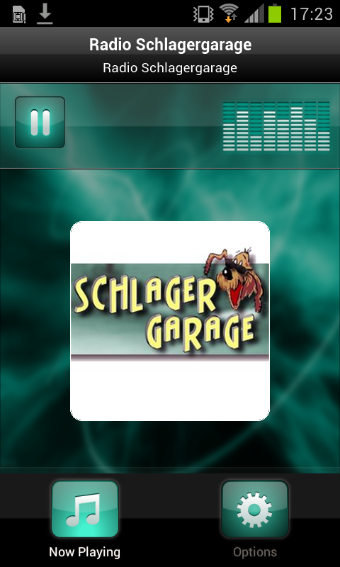 Radio Schlagergarage- screenshot