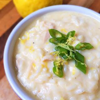 Lightened Greek Egg Lemon Soup (Avgolemono)