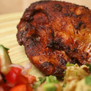 Spiced-rubbed Chicken.